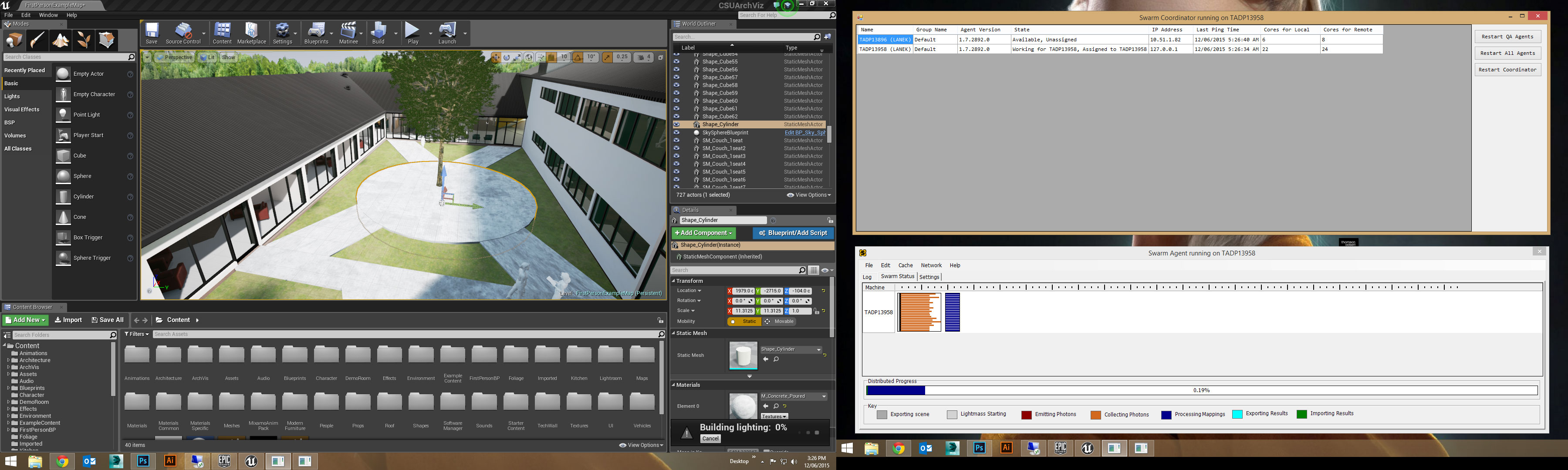 RENDERIZAR EN UNREAL ENGINE 4