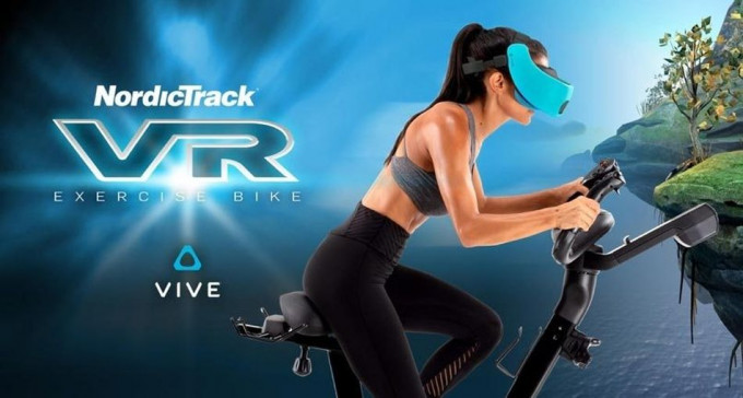 Bicicleta y Realidad virtual. VR BIKE by Nordic Track